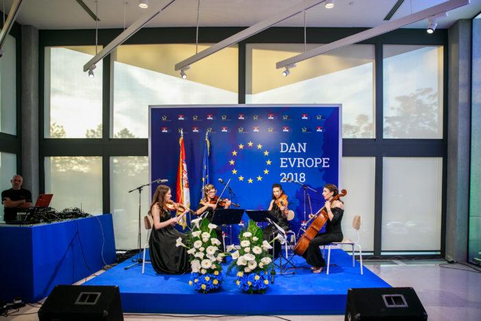 Nastup na svečanosti u organizaciji EU Info Centra