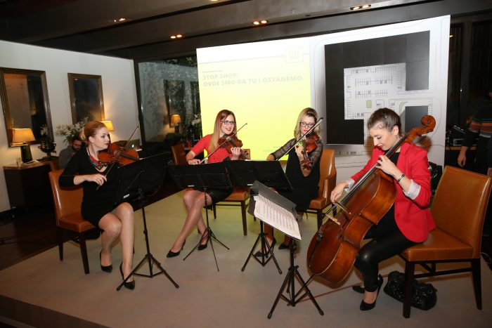 Events, Square Nine Hotel Belgrade, Celebration, Promotion, Quartet