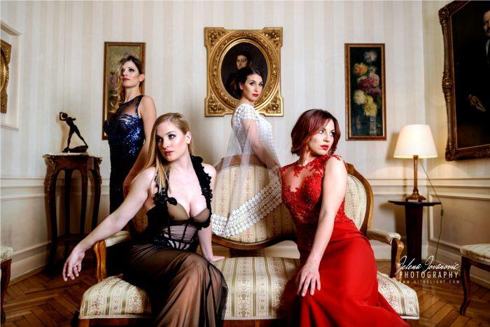 Marija Sabic, haljine, elegantne haljine, gudacki kvartet, muzika za vencanja