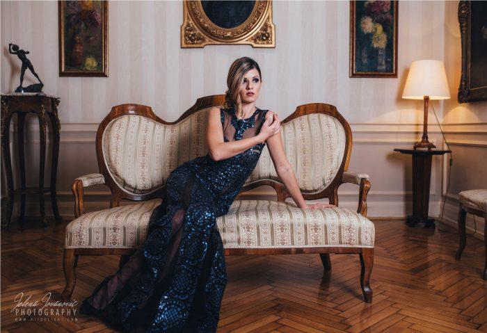 Marija Sabic, svecane haljine, Jelena Jovanovic, elegancija, muzika za proslave