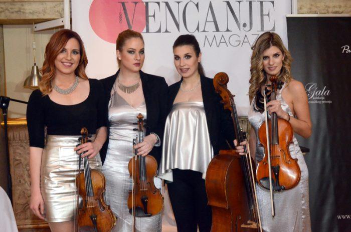 Kvartet Habanera, Sajam vencnja, Revija vencanica, Kvartet za vencanje, Kvartet za svadbu, Muzika za vencanja