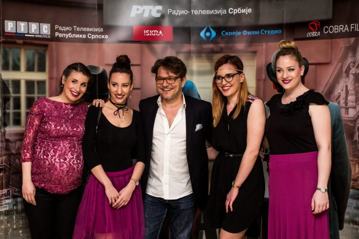 Square Nine Hotel, promocija serije, sa Draganom Bjelogrlicem
